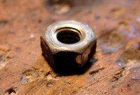 Draw a hex nut