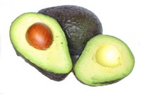There are many different kinds of avocados.