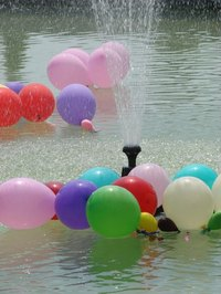 Water and balloons are a sure-fire mix for having fun in the summertime.