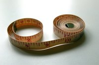 Taking good measurements with a sewing tape measure is important for making clothing.