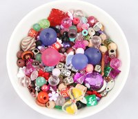 Add sparkle and interest to your float with leftover buttons and beads.