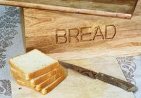 Make a homemade breadbox.