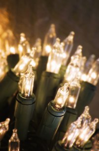 Use mini lights that stay lit when one of the bulbs burns out.