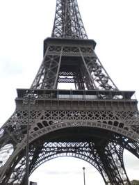 The Eiffel Tower is a famous tower in Paris.