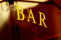 A home bar needs a rail.