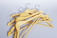 Hanger stackers keep empty hangers from taking up valuable space in your closet.