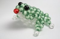 Beaded animals are fun to make.