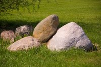 Fake boulders are a part of any good set designer's repertoire.