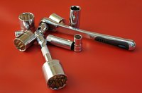 A broken ratchet handle can be repaired quickly.