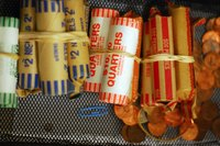 Coin rolls make storing and carrying large quantities of change much simpler