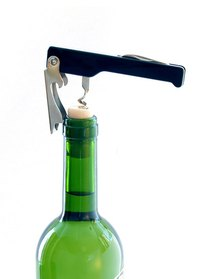 After you pop the cork on your wine, you can seal it with a stopper.