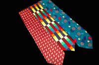 Men's ties to use for sewing projects.