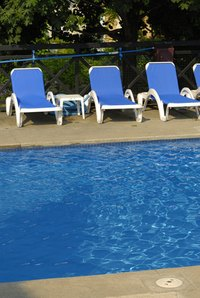 Pool chlorination kills bacteria and algae that might otherwise make the pool unsafe for swimmers.
