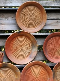 Create your own rustic dinnerware with some simple pottery techniques.