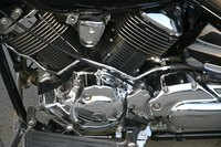 Motorcycle engines have many similarities with mower engines.