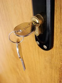 Dual-cylinder deadbolt locks are often used to prevent burglaries.