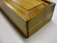 A secret compartment in a box is a simple project and is effective for hiding valuables