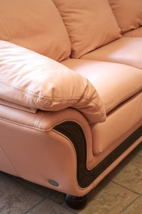 Leather comes in a variety of colors, including pink.