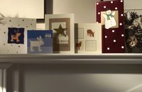 Brighten a soldier's day by sending a Christmas card.