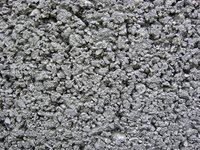 Concrete, depending on its use, has a coarse or fine texture.