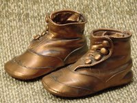 Bronzed baby shoes are a wonderful keepsake of your child's earliest days.