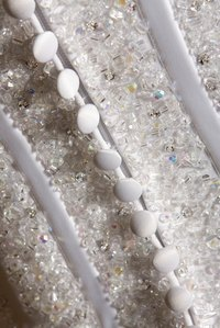 Beads can add texture, color and sparkle to all kinds of clothes.