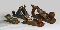 Stanley wood planes come in a variety of shapes and sizes.