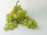While grapes may not seem particularly frightening, peel them and you have instant eyeballs.