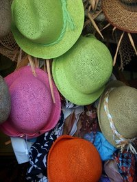 A hat decorating contest encourages participants to engage their crafting skills.