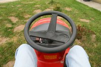Lawn tractors are intended for use on private property and are not licensed for street use.