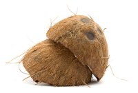 Coconut shells can be used for many different things.
