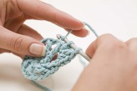 Make your own crochet hook to replace one you've lost.