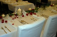 Add a touch of class to your event with chair covers.