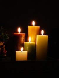 Candles are a popular decorating item in many homes.