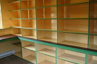 Create your own storage shelf solution.