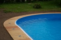 Inground pools can be placed on the same property as your septic system.