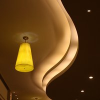 There are many types of ceiling light covers.