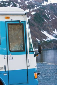 You can remove the siding from your travel trailer.