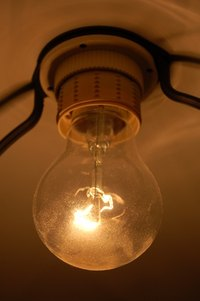 Traditional incandescent bulbs create both heat and light.