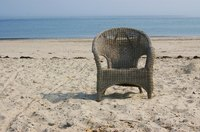 Protect your wicker furniture from the elements with clear polyurethane.