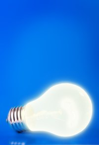 Incandescent bulbs produce heat.