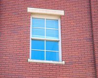 Window springs can lose tension over time.