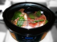 You can cook a variety of meats, including fish, in a pressure cooker.
