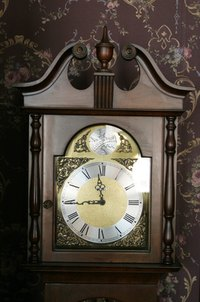 To Look Their Best, Grandfather Clocks Need to Be Cleaned Often