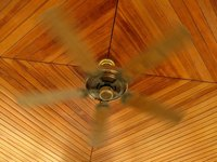 Tongue and groove ceilings create an appealing, rustic feel.