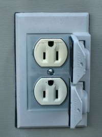 Cut Into Stucco When You Want To Install An Exterior Outlet Into A Stucco  Wall.