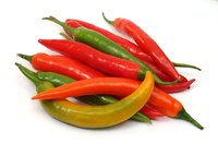 Cayenne peppers get hotter as they get redder.