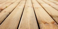Composite decking is  a popular alternative to wood decking.