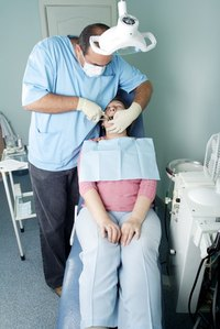 Permanent dental cement is used to bond dental work.