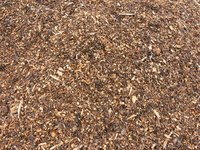Termites are attracted to wood-based mulches.